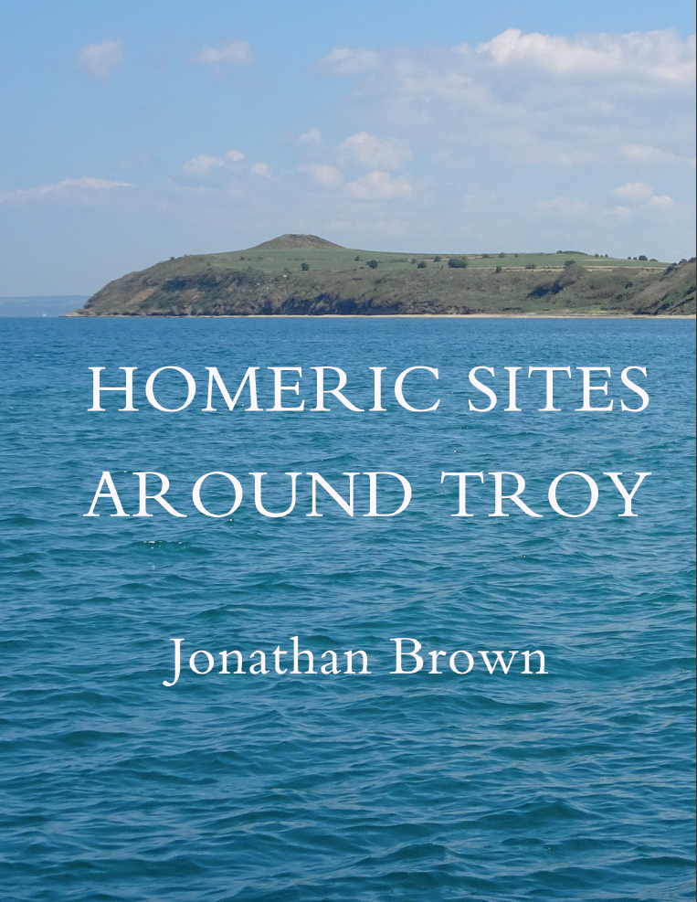 Book cover: Homeric sites around Troy